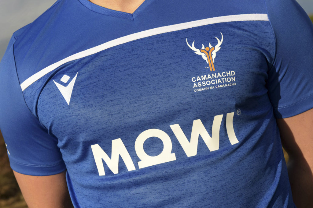 New Scotland shinty kit sponsor