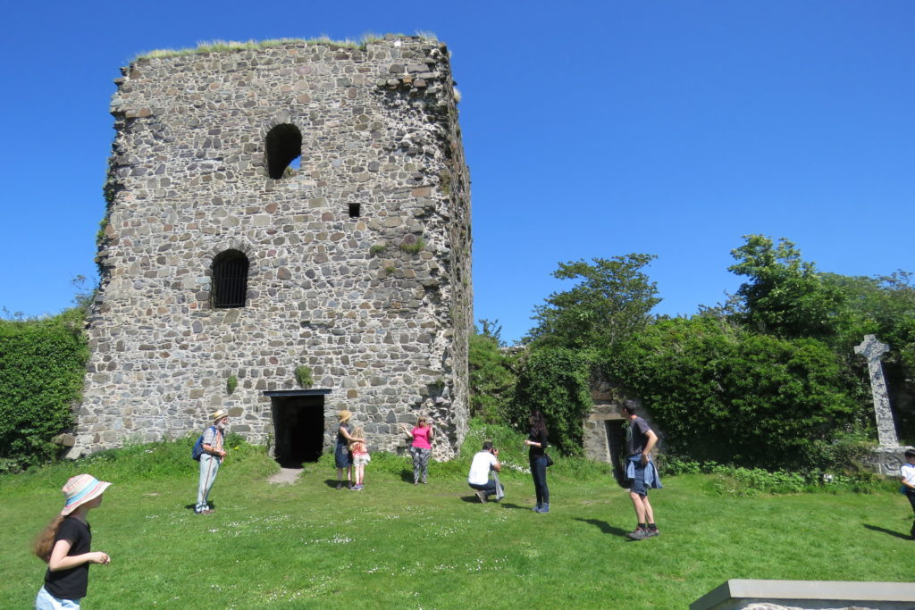 The exterior and main tower of Dunollie Castle will benefit from a £141,000 restoration grant. NO_T07_Dunollie01