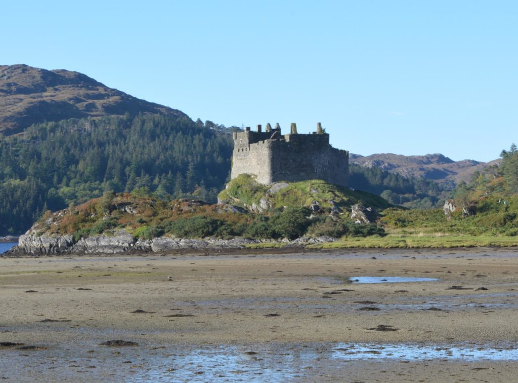 Castle Tioram in Moidart where Donald MacDonald sat taking pot-shots from the battlements at anything that moved. Photograph: Iain Thornber