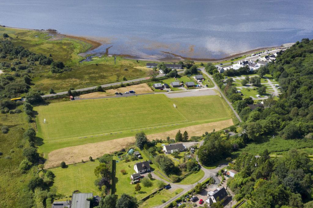 Kinlochshiel Shinty Club names new pitch