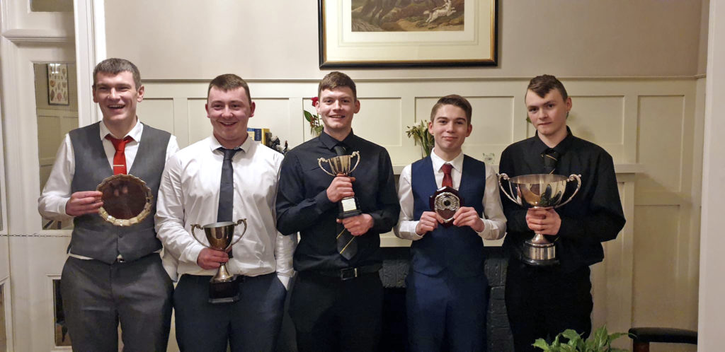 Inveraray players recognised at awards night