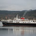 Hebridean Princess off Inveraray