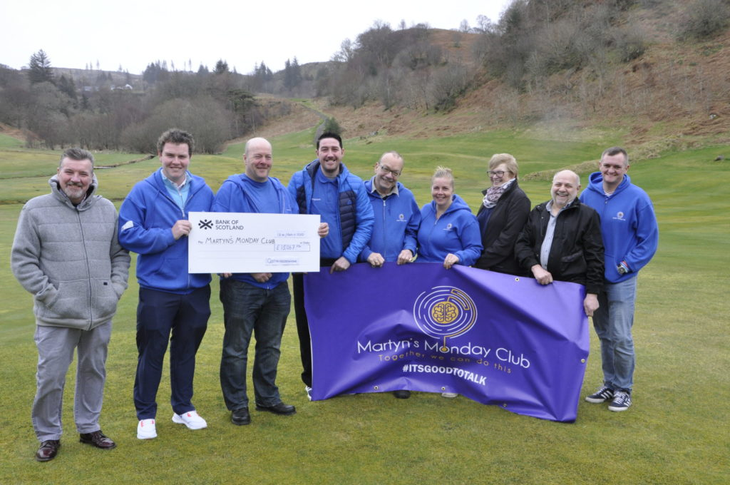 Golf ace Robert lends support to Martyn's Monday Club