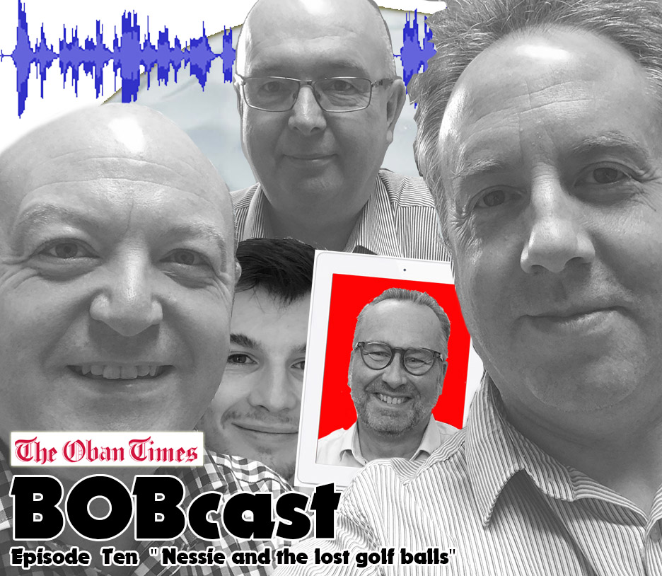 "BOBcast Podcast Episode 10 ""Nessie and the lost golf balls"""
