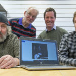 Judges of the competition to select pictures of 'everyday Lochaber' which will be featured in the new cinema are, from left, Rob Fairley, Iain Ferguson, Angus MacDonald and Andrew Sinclair. NO F10 Cinema photo competition