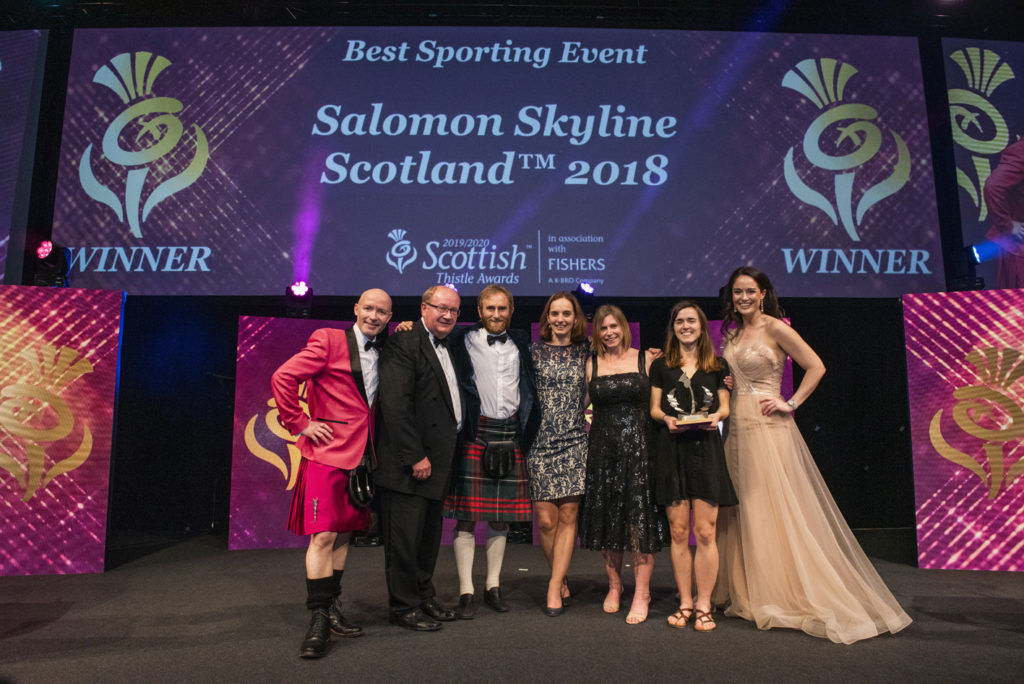 Tourism award success for Skyline Scotland mountain running event