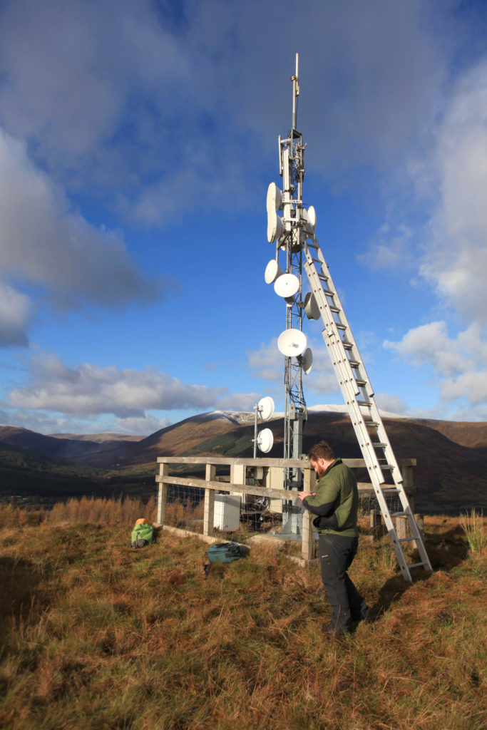 Locheilnet asks customers to be sensible with broadband usage