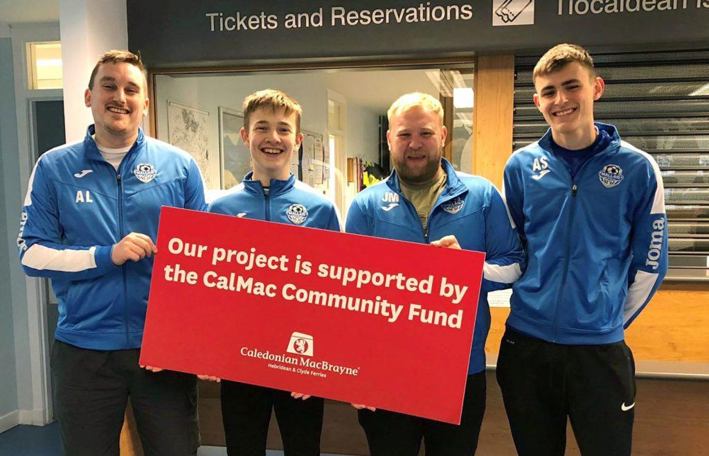Mallaig FC benefits from CalMac  cash boost