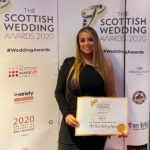 Natalie Pacitti of Oro Rosa Beauty Salon in Oban with her certificate. NO_T10_NataliePacitti01