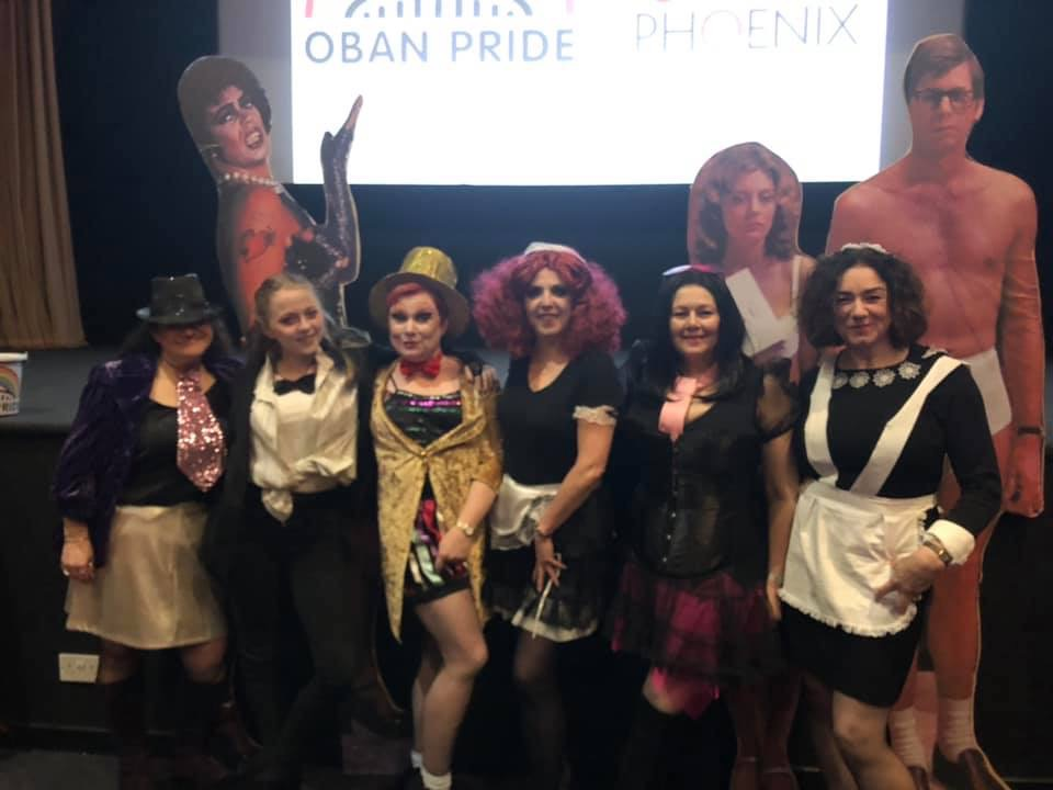 Pride supporters take a jump to the right at fundraiser