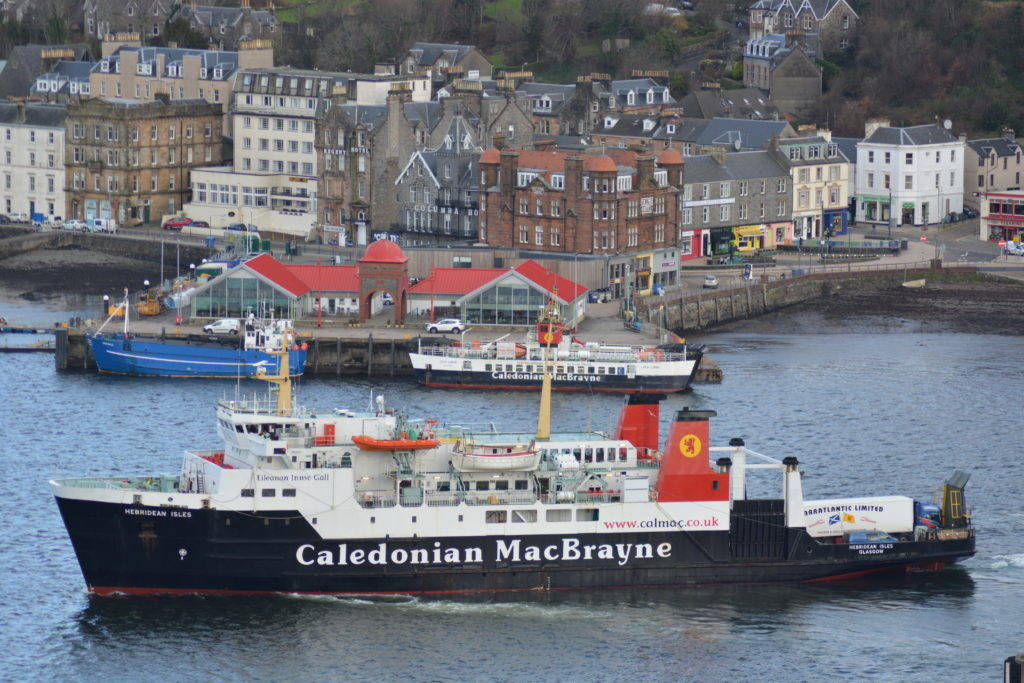 Ferries to Scottish Islands closed to all but essential trips