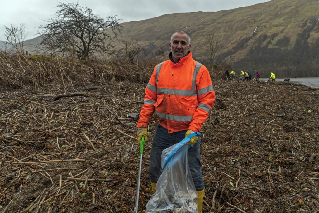 200 bags of rubbish found at loch