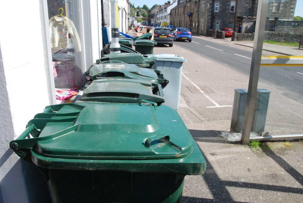 Bin changes next week to see off rubbish pile-up