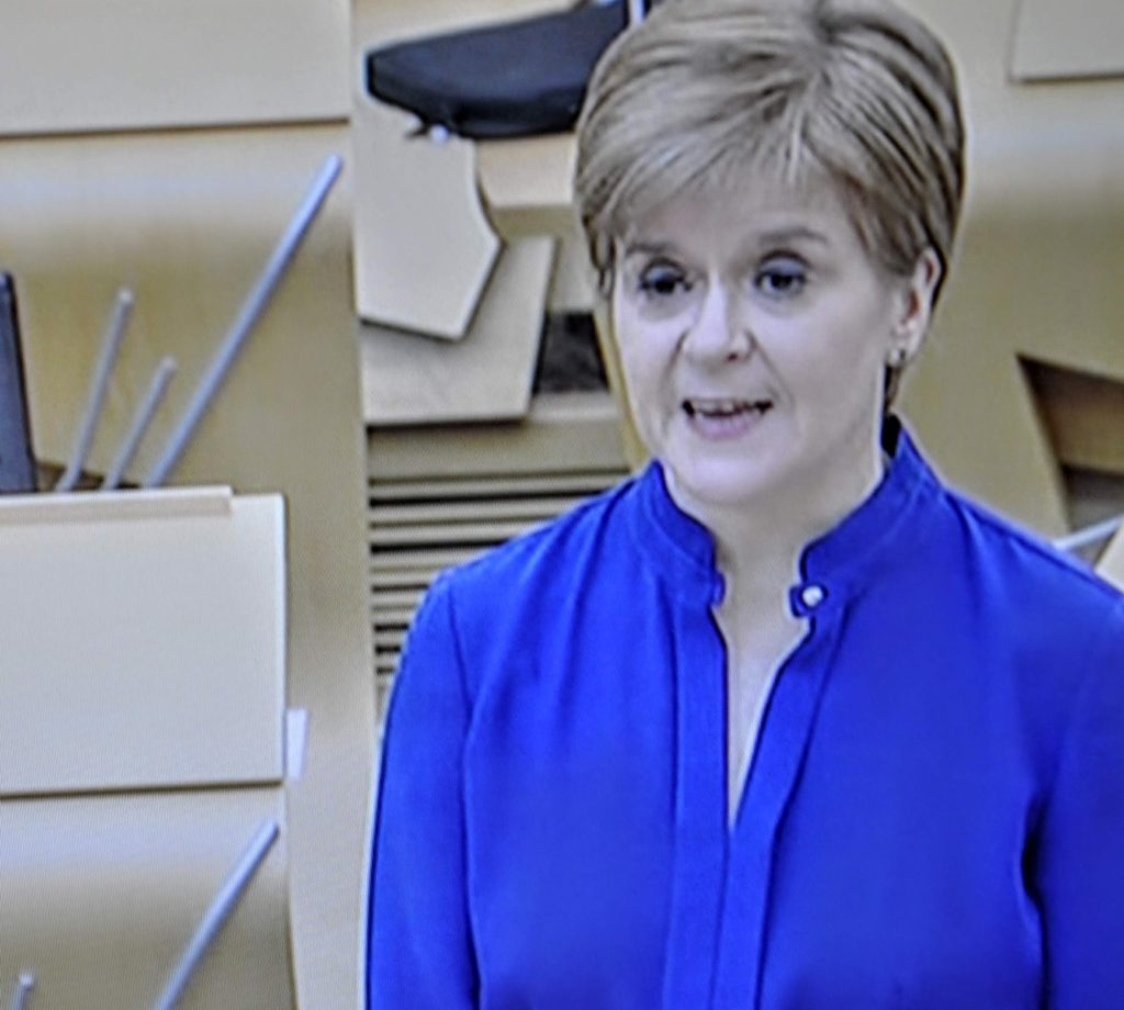 Virus cases in Scotland hit new high