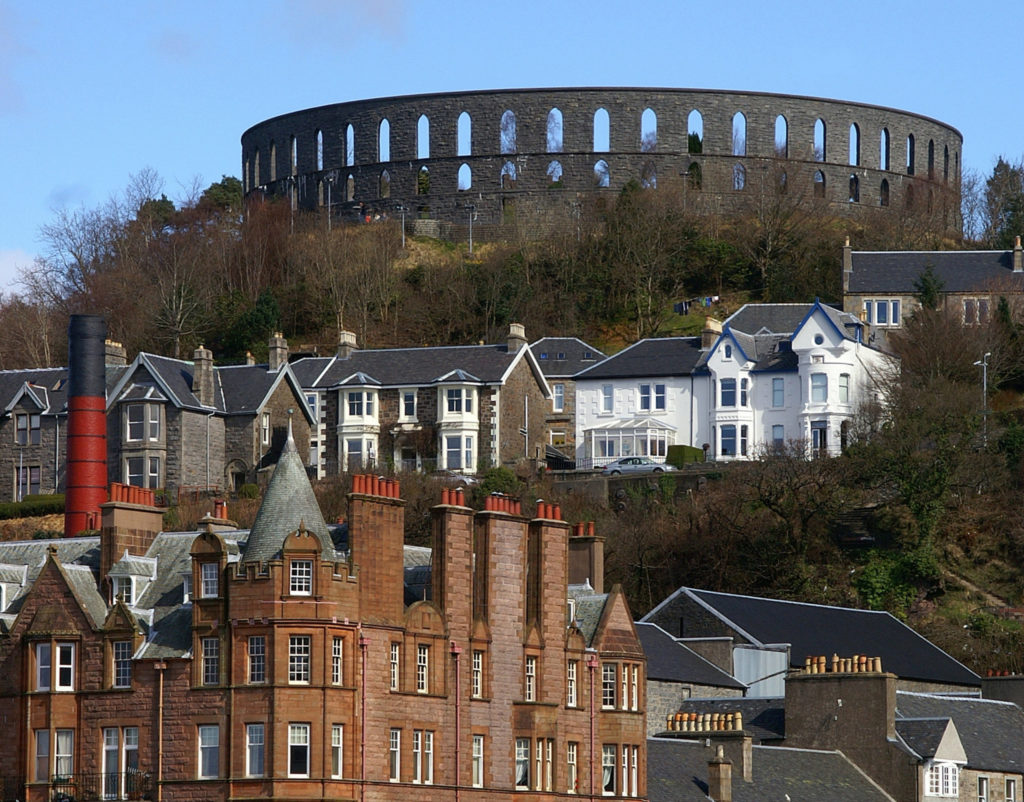 A piece of history towering above Oban bay