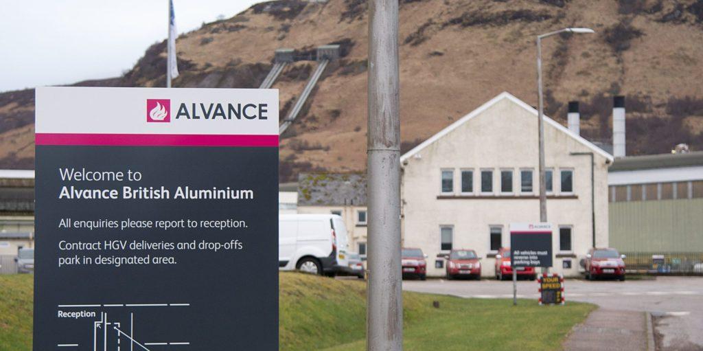 ALVANCE SITE Alvance British Aluminium site. Photograph: Iain Ferguson, alba.photos NO F15 Alvance site 02