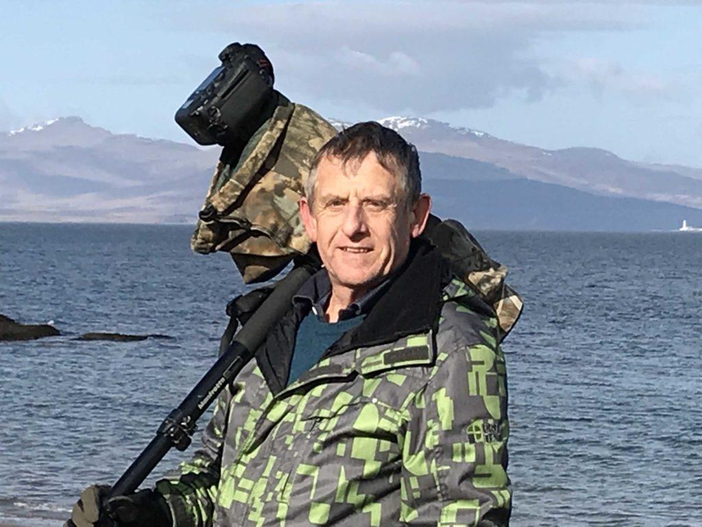Stephen's on the trail of Ganavan's black fox