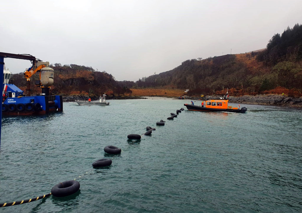 Islands back on grid after underwater cable fault