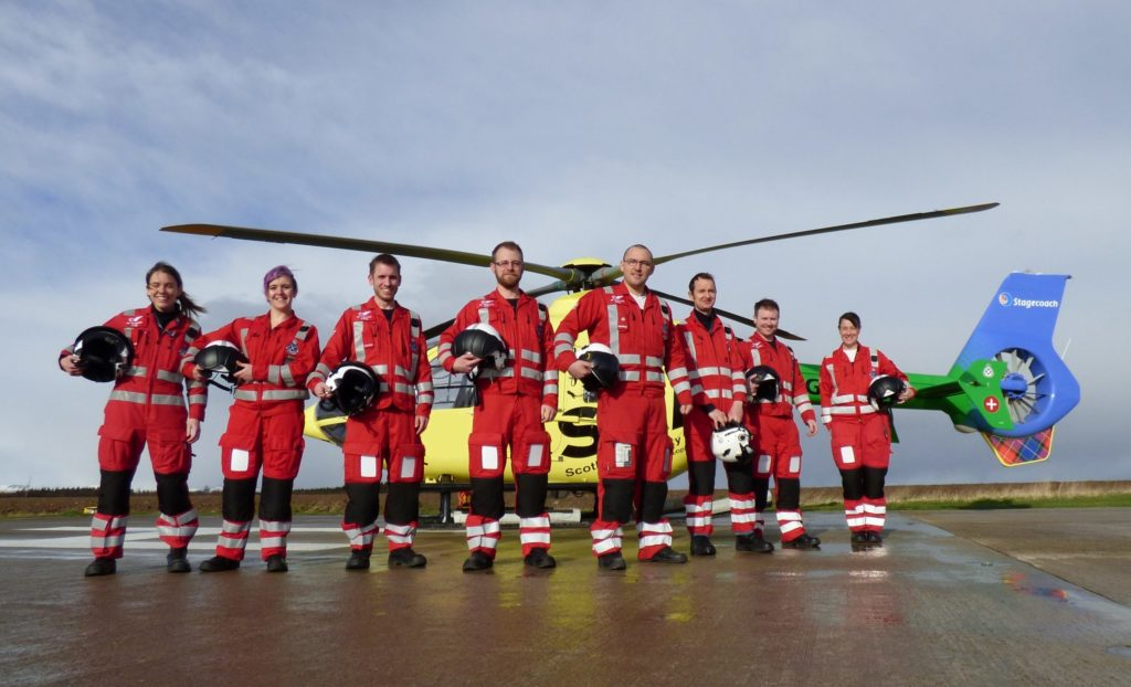 Second charity helicopter air ambulance launched in Scotland