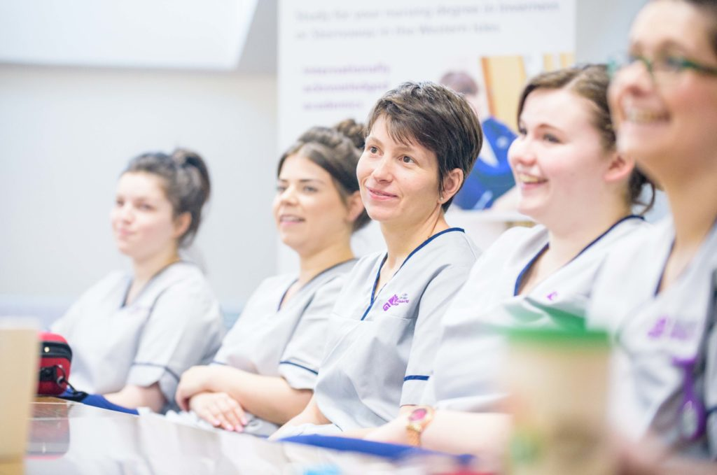 UHI nursing and midwifery students give NHS a helping hand