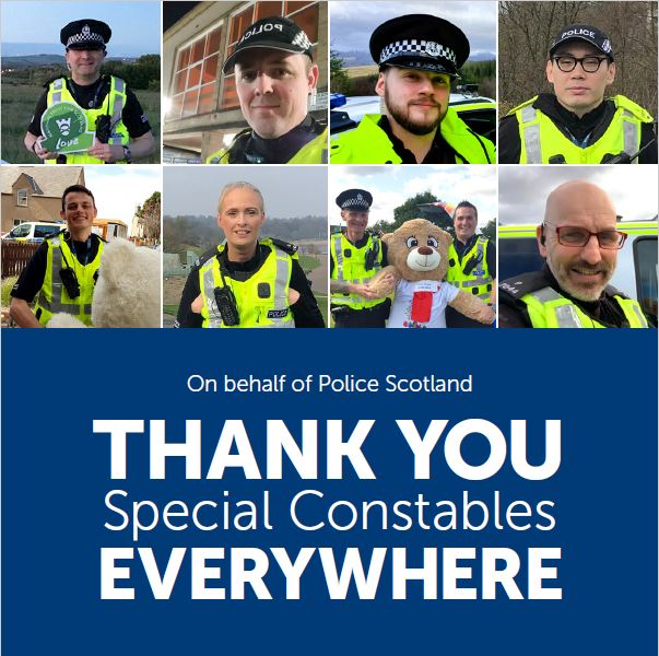 Police Scotland 'humbled' by special constables