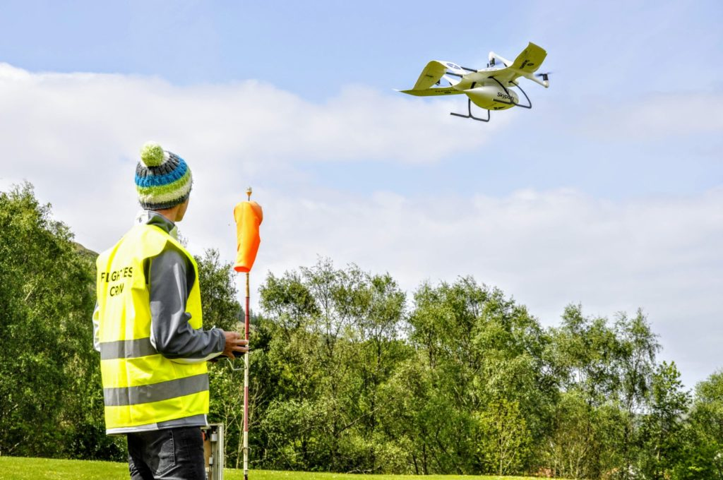 Oban hospital buzzes with drone trials