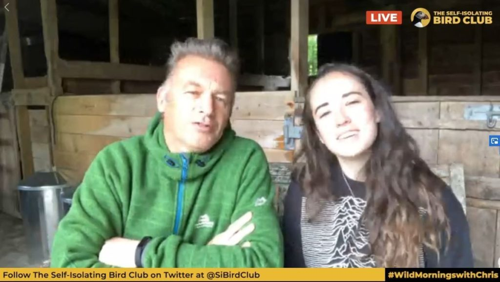 Chris Packham hails Lochaber's Holly as 'very special young person'