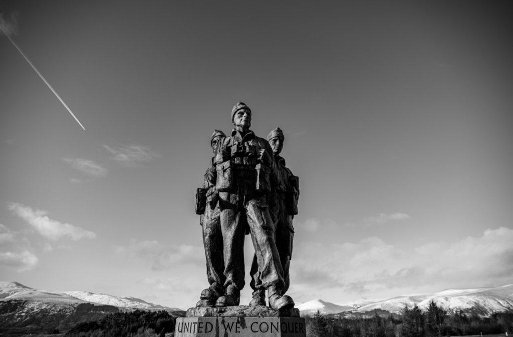 NO F22 commando memorial