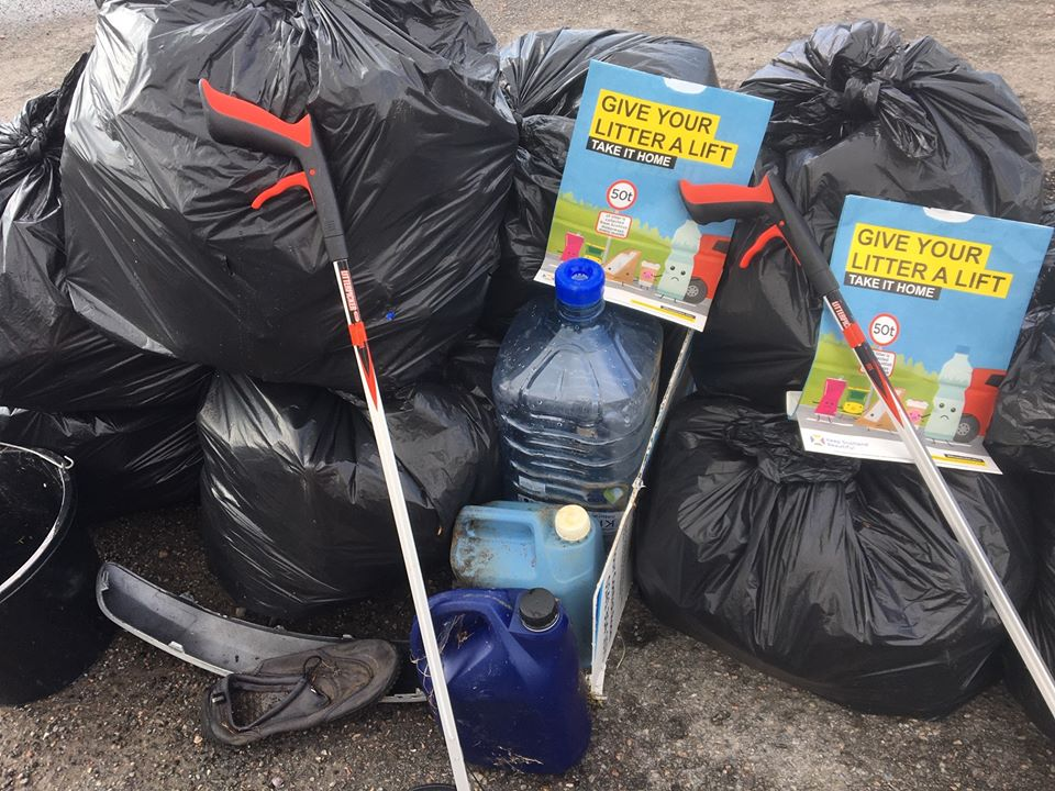 Take your litter home say eco group