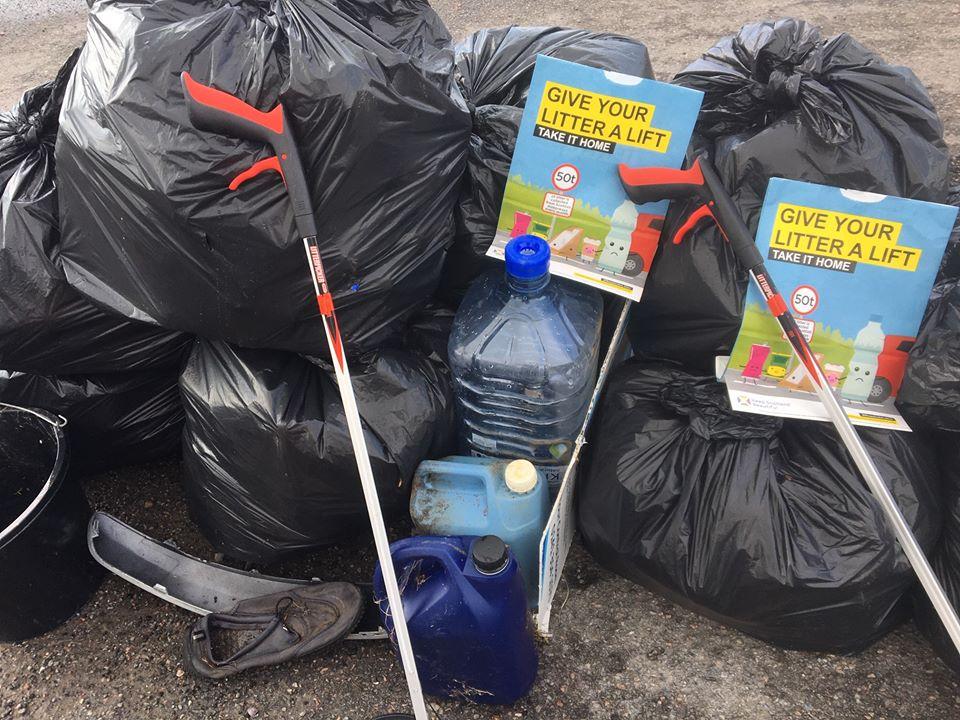 Take your litter home say eco group