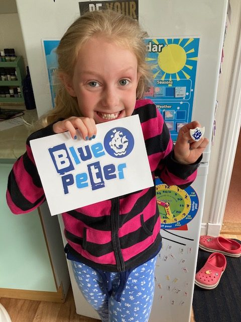 Ganavan pals get creative for Blue Peter challenges