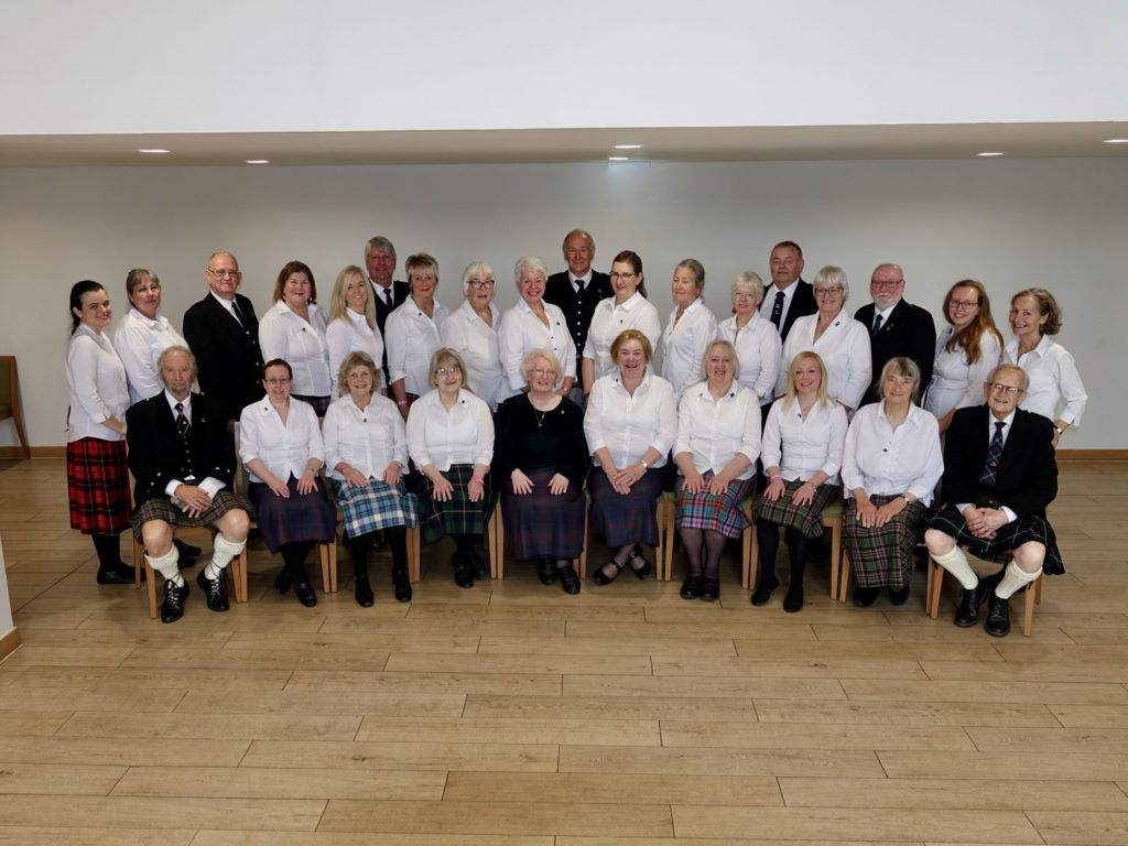 Mull's at home choir gives us a tune