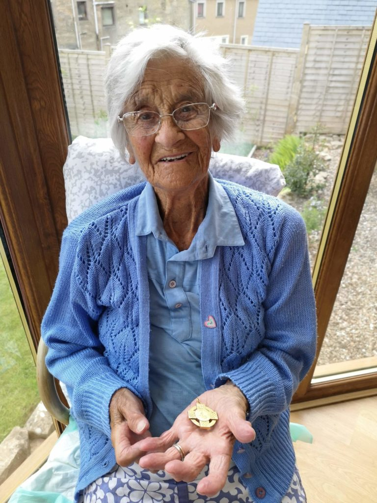Home is where the bealach an righ is for soon-to-be centenarian Isobel
