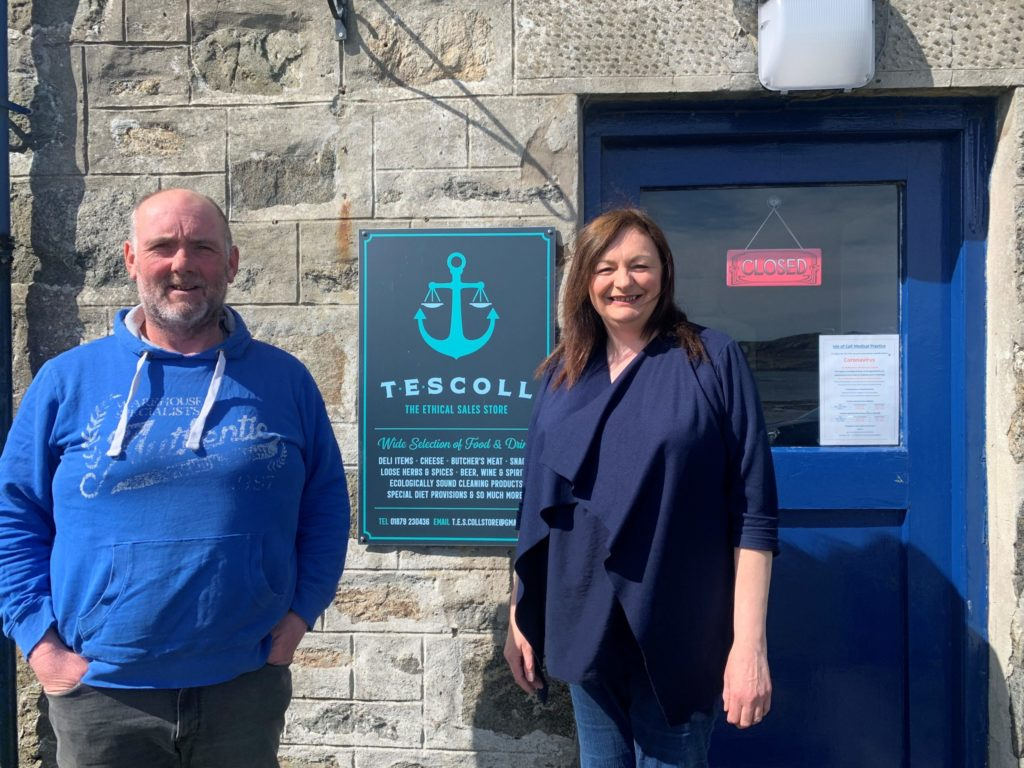 Coll shop adapts and delivers through COVID