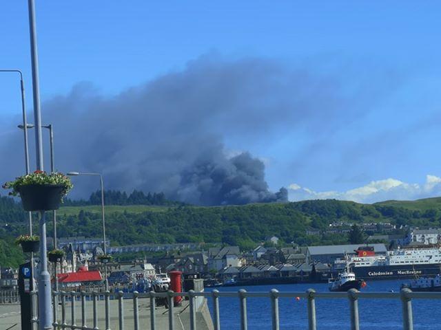 Fire at Livestock Centre