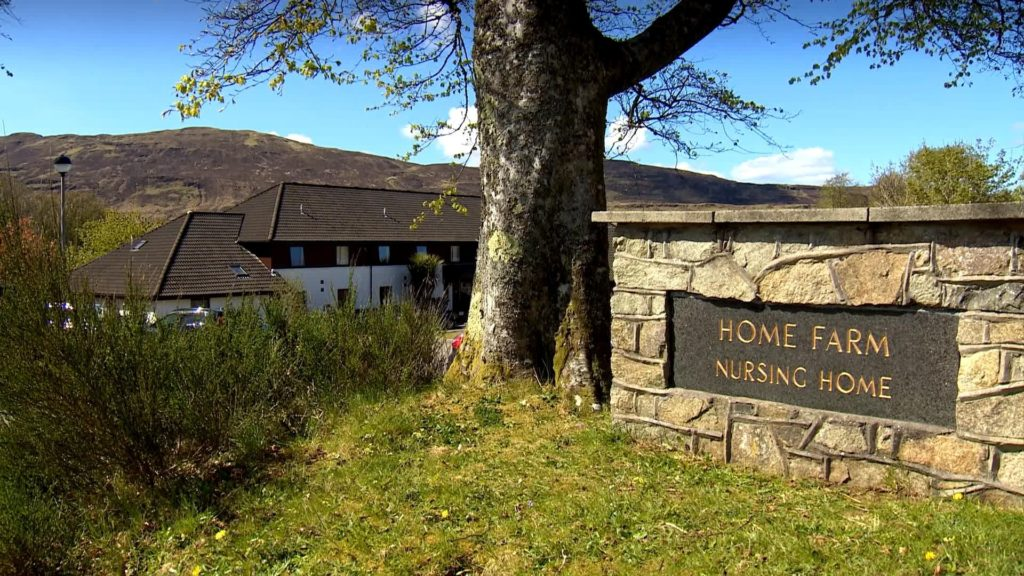 Nine residents are now said to have died at Home Farm Care Home, pictured, at Portree on Skye.