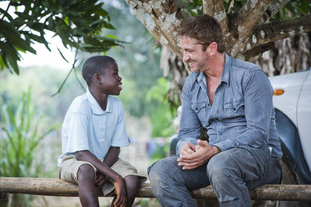 From Hollywood to Haiti – Gerard Butler reaches out with Mary's Meals