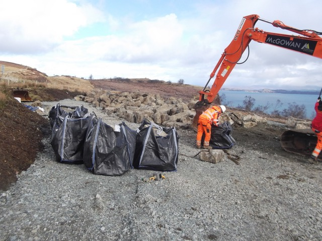 Construction projects resume on Skye