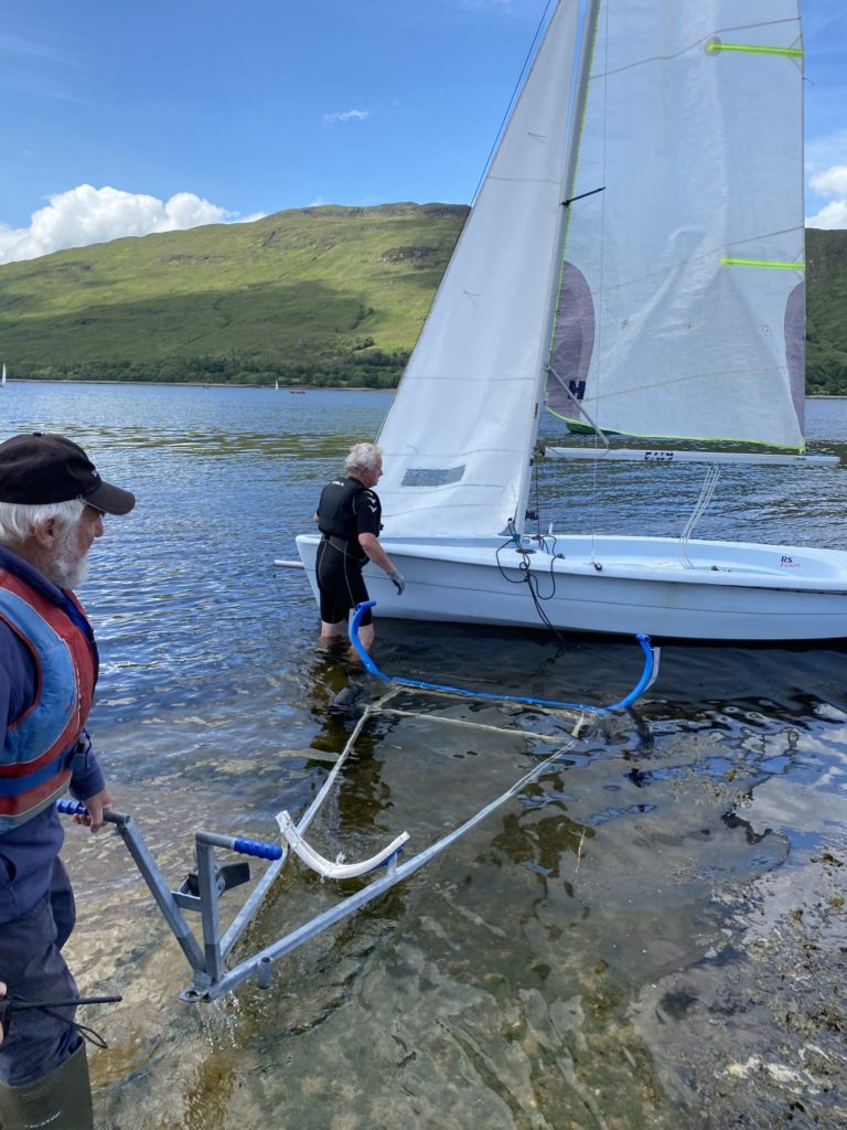 Yacht Club members get back to messing about on the water