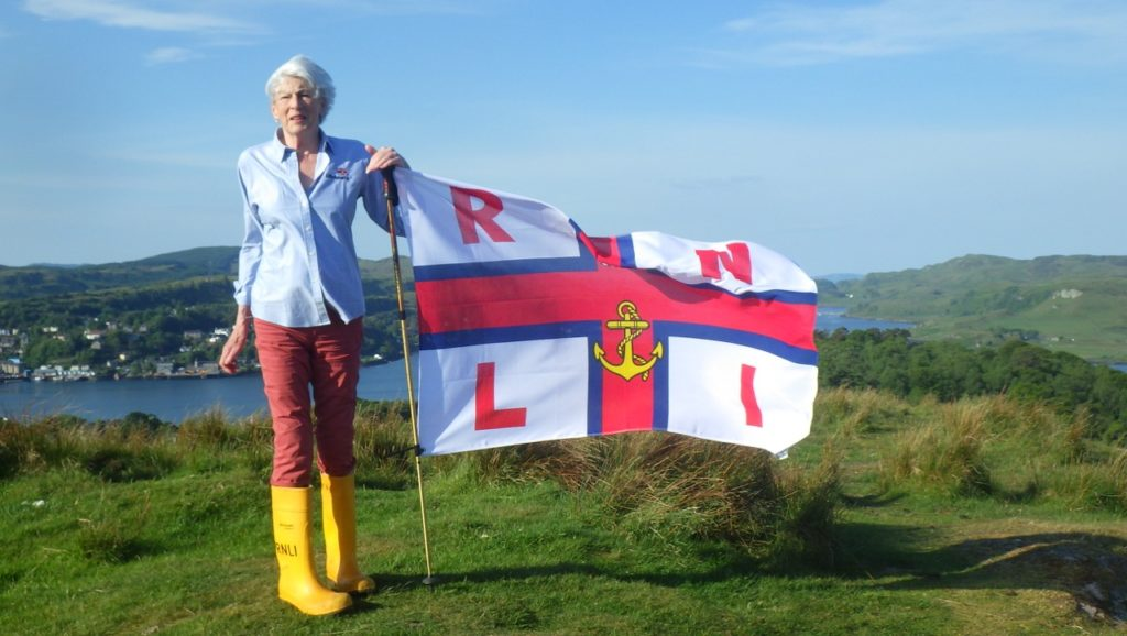 Alison tops Everest challenge in aid of Oban lifeboat