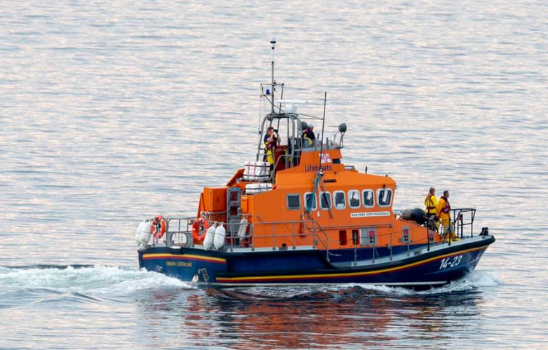 Missing person report sees Oban lifeboat launched