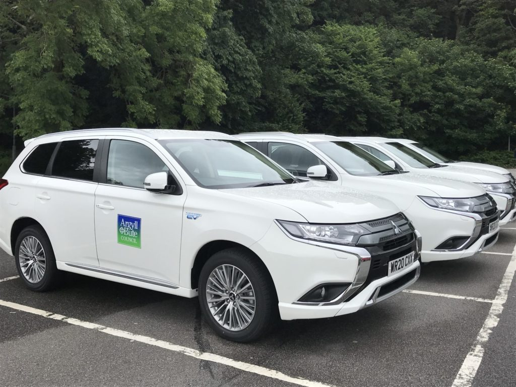 Council switches on to hybrid vehicles