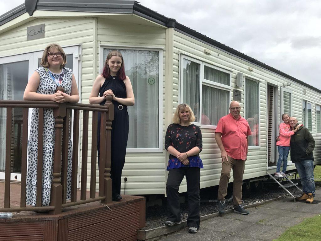 Charity opens caravan for bereaved families
