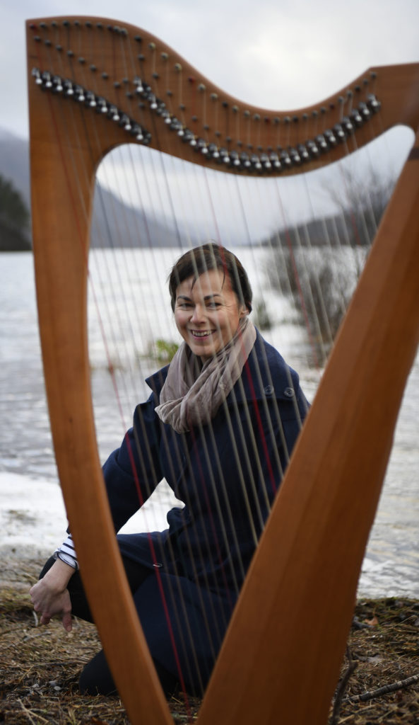 Ingrid Henderson, pictured on the shore of Loch Shiel close to her home at Glenfinnan. Photograph: Iain Ferguson, alba.photos NO F04 Ingrid Henderson 02