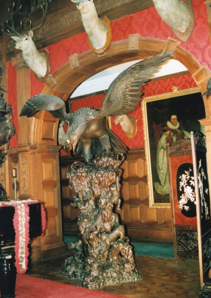 Kinloch Castle's Japanese garden – corrections