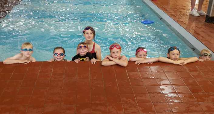 Island's eight youngsters top up swim skills