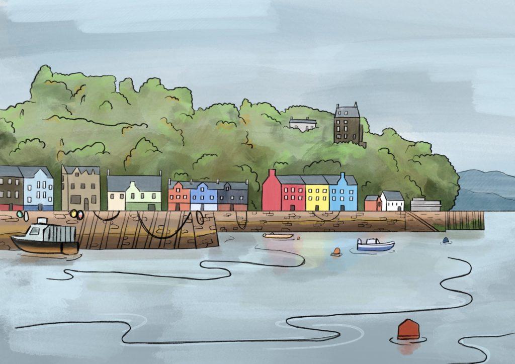 Sketching Scotland series is a work of art