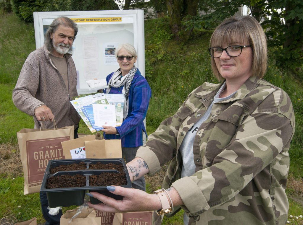 Gardening project takes root in Upper Achintore