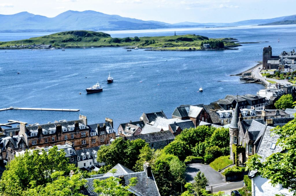 Top of the Scots: Oban named in UK's best escapes