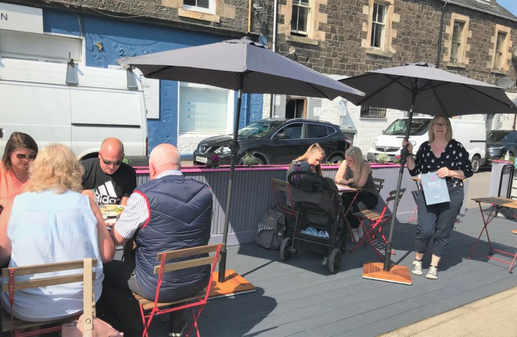 New cafe culture comes to Oban